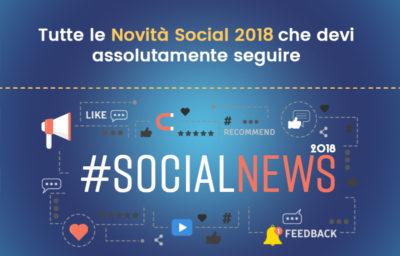 Novità Social 2018
