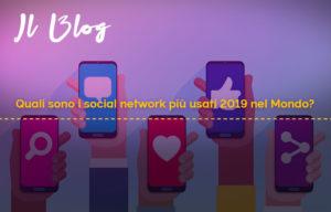 social network più usati 2019