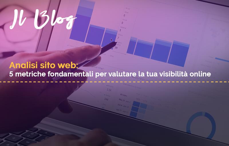 analisi sito web